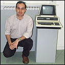 Me and a Commodore Pet